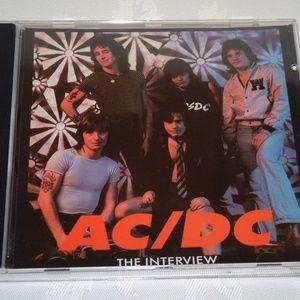 AC DC Interview New 1992 UK CD With Bon Scott